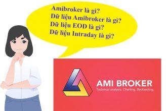 Amibroker là gì dữ liệu - Amibroker là gì - Dữ liệu Intraday là gì - Dữ liệu EOD là gì