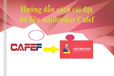 Cách tải và cài đặt dữ liệu Amibroker Cafef miễn phí