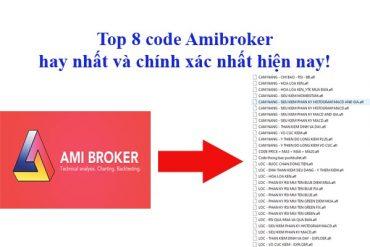 top 8 code amibroker hay nhất và chính xác nhất hiện nay