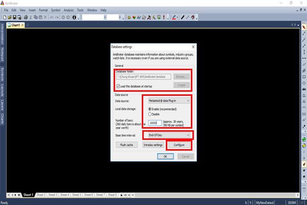 Create database cho Amibroker Vietstock Updater