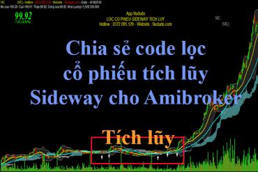 Code lọc cổ phiếu tích lũy tốt nhất cho Amibroker
