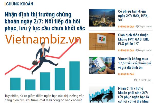 Vietnambiz.vn cung cấp rất nhiều bài viết về phân tích thị trường chứng khoán rất hữu ích